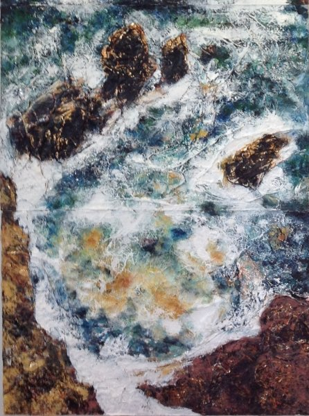 """Rocks"". Detail (Lower half)"